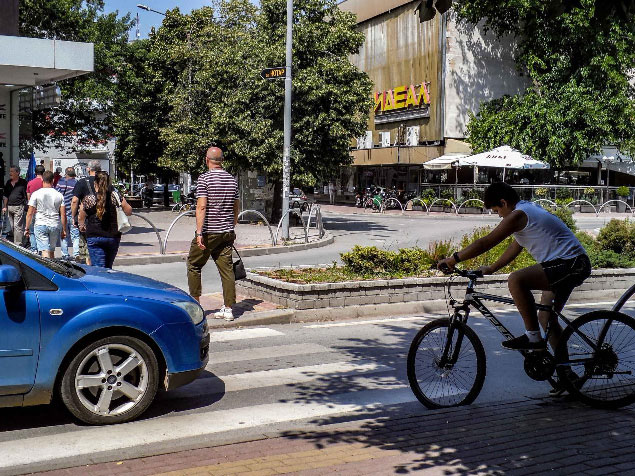 velosipedistite proterani od stip 9