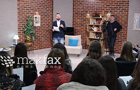 Mediumski den vo Makfaks srednoškolcite se zapoznaa kako da razlikuvaat informacija od dezinformacija